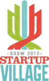 SXSW Start Up Village Logo